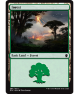 Magic The Gathering-Dragons of Tarkir-Forest #264 - $0.05