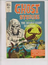 Ghost Stories #32 VF april 1972 - dell comics - deadly giant scorpion - ... - $9.25