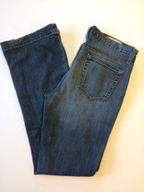 Gap Jeans Womens Size 6 Regular Stretch Long Lean Medium Wash Boot Cut L... - $15.44