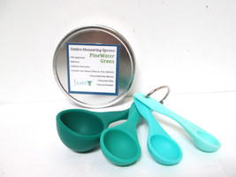 Juuven PineWater Green Ombre Measuring Spoons 4 pc Set [EH-A-J] - $13.10