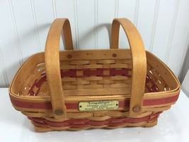 LONGABERGER 1996 Christmas Collection Holiday Cheer Basket 24024 - $24.74