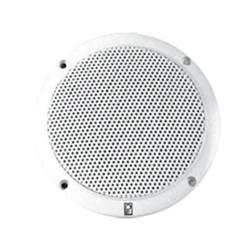 Poly-Planar 6 Dual Cone Integral Grill Speaker - (Pair) White
