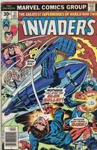 Invaders #11 ORIGINAL Vintage Marvel Comics 1977 Origin of Spitfire - $9.89