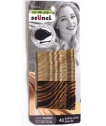 Scunci Blonde Color Match 48 pk Bobby Pins  w/ pin opening tool - $5.99
