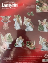 Janlynn Victorian Angel Ornaments counted cross stitch kit 125-0259 New - $16.45
