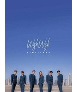 LIMITLESS - Wish Wish (1st Mini Album) CD+Photobook+Photocard+Tracking no. - $26.50