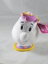 "Disney Beauty and the Beast Mrs. Potts Plush Toy 5"" NWT - $7.69"