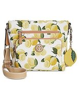Giani Bernini Canvas Lemon Fruit Small Crossbody Lemon Print - $88.11