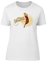 National Champions Basketball Women's Tee -Image by Shutterstock - $10.88+