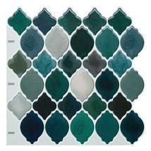 "(Ship from USA)Cocotik 12""x12"" Self Adhesive Peel Mosaic Wall Vinyl Backsplash S image 5"