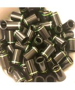 """12 Premium Quality Iron Ferrules Black with Green Ring 0.75"""" - .355 or .370 - $23.99"""