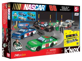 Nascar Dale Jr's Garage Building Set  - $35.00