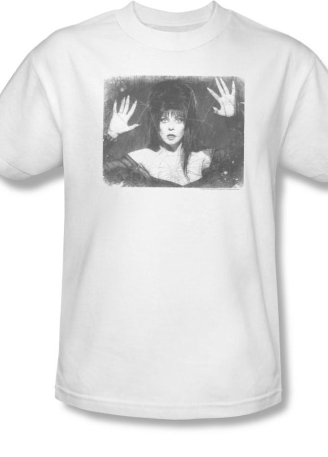Eva136 at elvira darkness halloween tee for sale online graphic white tshirt