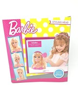 Barbie Blonde Styling Head and Accessories 7-Piece Headband Brush Set Ag... - $40.65