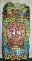 Vintage Heilemans Old Style Plastic Beer Sign - $84.55