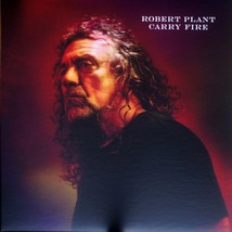 ROBERT PLANT / CARRY FIRE NM/EX [0226] 2LP record, FREE US SHIPPING - $37.40