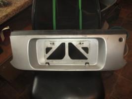 94-99 CELICA GT ST SILVER REAR PANEL LICENSE PLATE HOLDER 75082-20280 YO... - $74.25