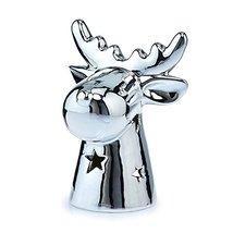 Deco Flair HOL5060 Ceramic Moose Tealight Candle Holder - $24.47