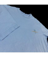 Tommy Bahama Relax Blue Men T Shirt BBQ All Fun & Games Until Loses Rib ... - $15.99