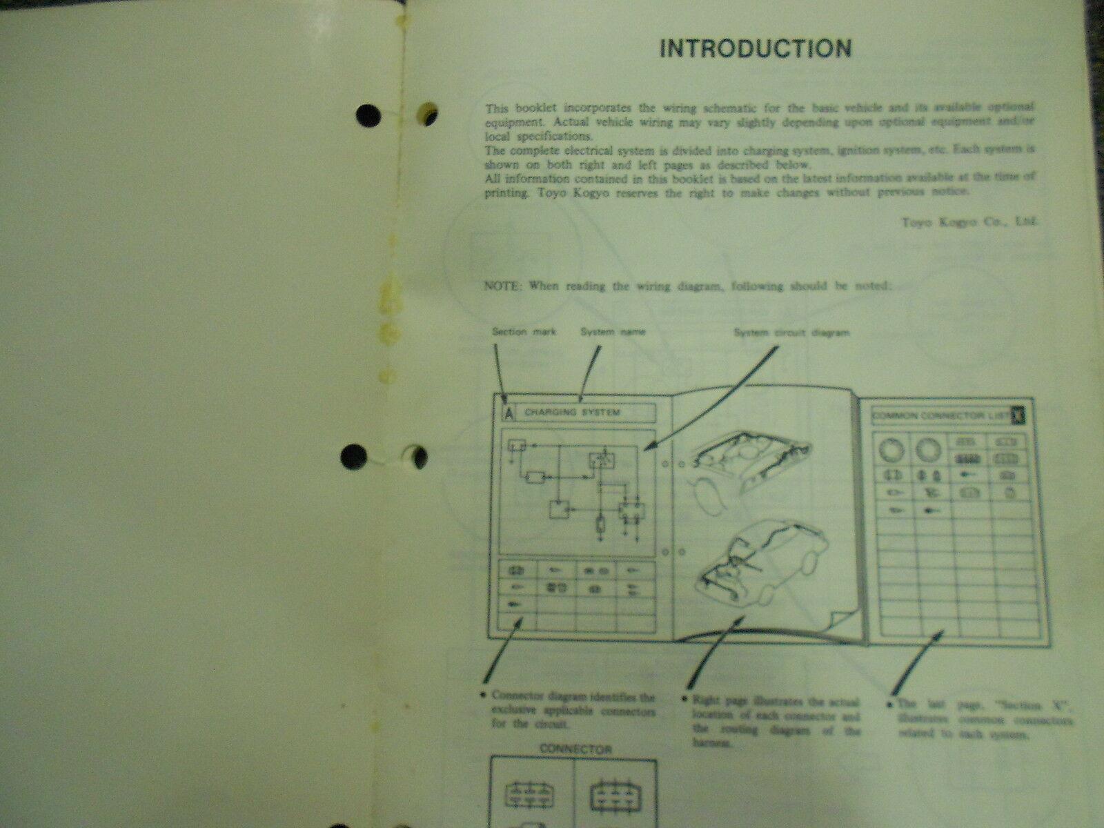 1981 Mazda 626 Service Reparatur Shop Manuell Set Fabrik OEM Bücher Selten 81