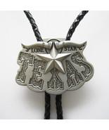 Western Tie Clips Bolo Tie For Men Texas Long Horn Star Bolo Tie - $8.99