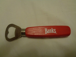 Banks Beer of Barbados Bottle Opener Pop Beer Bottle Collectible - $8.54