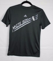 Adidas white sox Chicago youth boys t shirt size M 10-12 - $11.89