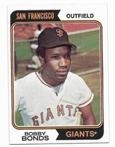 1974 Topps #30 Bobby Bonds, San Francisco Giants - $1.70