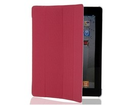 Inner Hard Shell PU Leather Protective Case for The new iPad (Pink) - $21.88