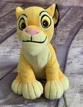 "Disney The Lion King Simba Stuffed Plush Just Play 8"" - $12.34"