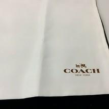 "Coach Satin Dust Cover Storage Sleeper Bag L Size 23""x 20"" Dust Bag New ... - $24.70"