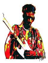 "Jimi Hendrix, Guitar, Singer, Psychedelic Rock, Hard Rock, 18""x24"" Art P... - $19.99"