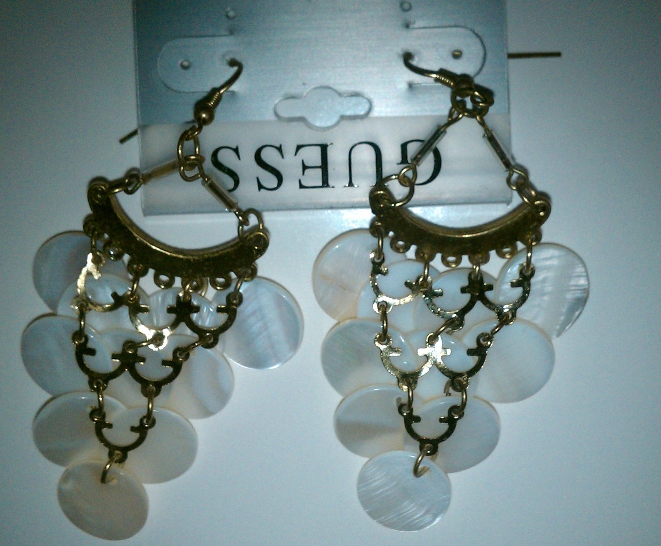 GUESS Chandelier Earrings NWT
