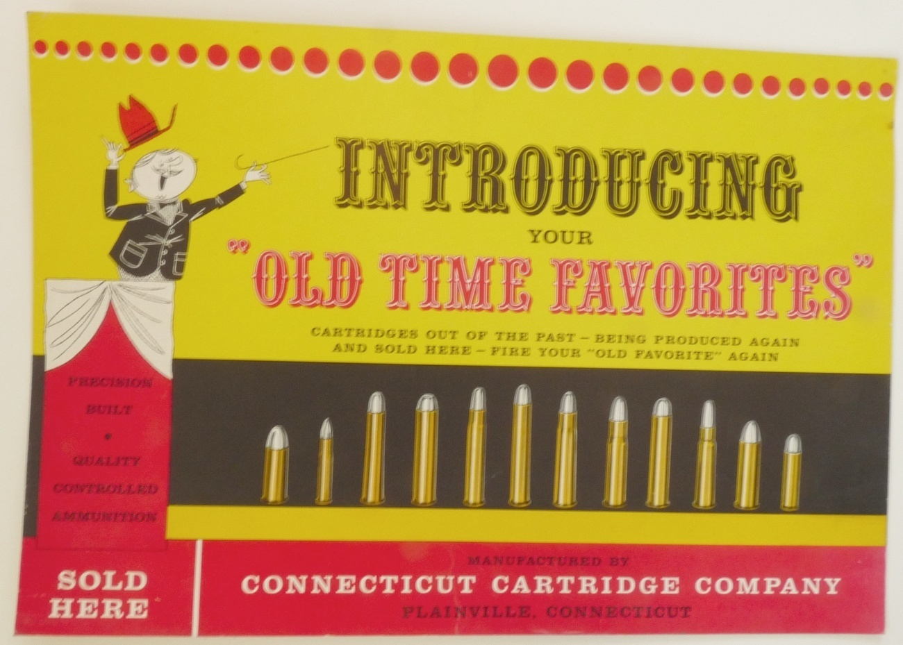 CT Cartridge Co vintage poster Old time favorites ammo ...