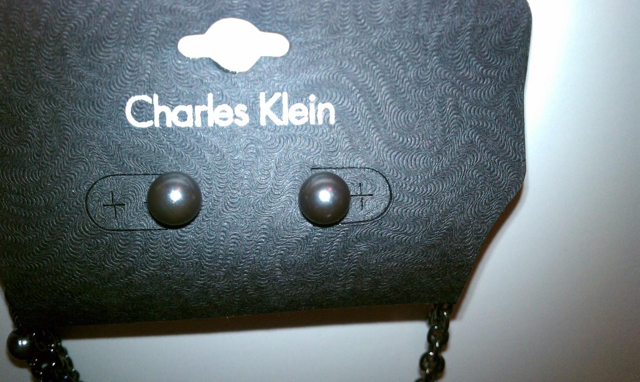 Charles Klein Layer Necklace W/ 3D Flower NWT 19562NE