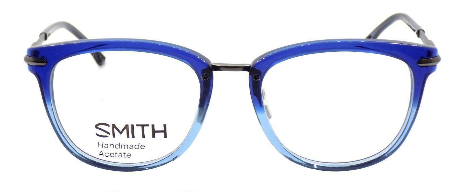 SMITH Optics Quinlan IOV Unisex Eyeglasses Frames 51-19-140 Blue Crystal Split