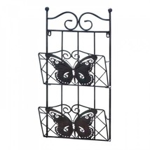 Butterfly 2-tier Magazine Wall Rack - $44.57