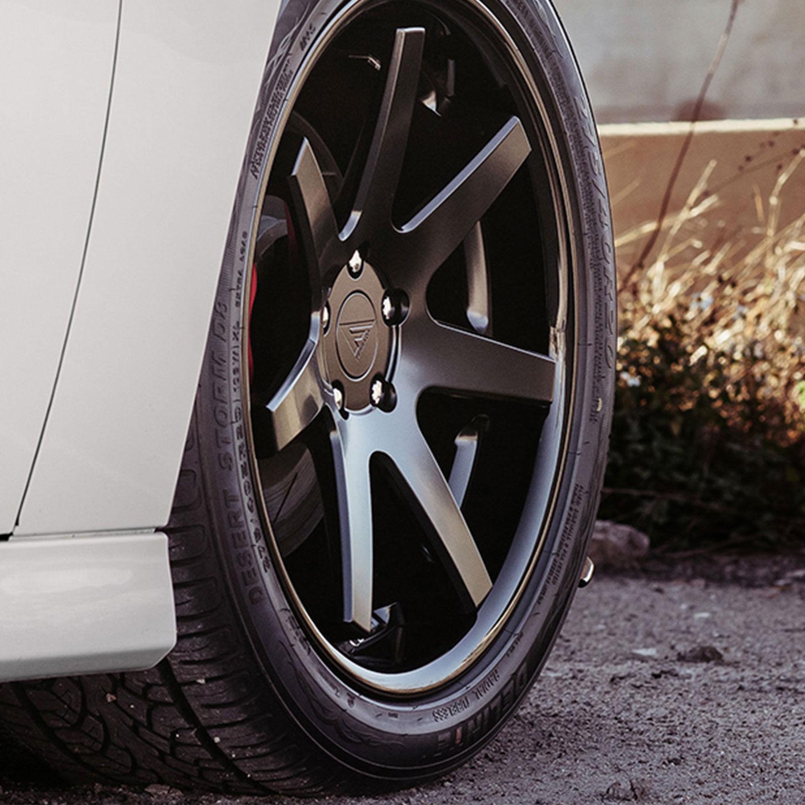 """19"""" Ferrada FR3 19x8.5 Matte Black Wheels For BMW X3 & X4"""