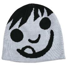 Neff White Black Happy Emoij Smiley Beanie Winter Hat