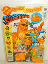 Vintage Dc COMIC- Superman & The Global Guardians NO.46- June 1982- GOOD- L5 - £3.39 GBP