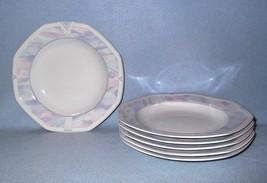Savoir Vivre Celina Y0010 6 Soup Bowls Octagonal Pastel - $22.99