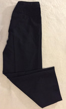 Ann Taylor Loft Stretch Women Pinstripe Dress Career Trouser Slacks Pants Size 6 - $23.99