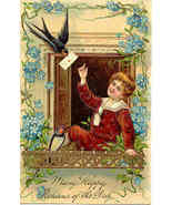 Happy Returns of The Day Paul Finkenrath of Berlin Post Card - $5.00