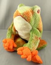 """Ty Beanie Babies Prince Tie Dye Frog Bullfrog Plush Toy 13"""" Stuffed Anim... - $10.63"""
