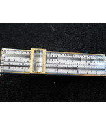 SWANK Goldtone vintage men's sliderule tie bar - $16.99