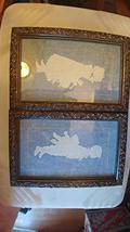 2 Framed Boy & Girl Silhouettes - $49.45