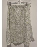 J Jill Women's SMALL A-Line Floral Flowers Linen Skirt   - $14.84