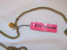 NWT Betsey Johnson Skull Anchor HandBag Pendant Charm Necklace Nautical  - $29.99