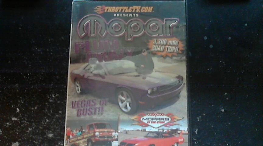 Mopar Plum Crazy Vegas or Bust!! DVD (2011)