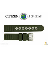 Citizen Eco-Drive BM8180-03E 18mm Green Cloth Nylon Watch Band E101M-S00... - $44.95